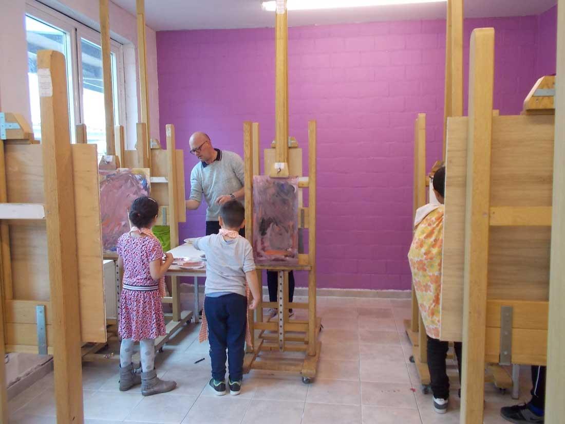 Kind- en kunstdag — schilderkunst — De Ark