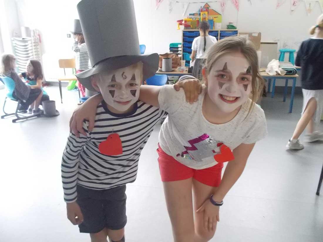 Kind- en kunstdag — mime — De Ark