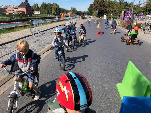 Strapdag 2019: fietsen op straat