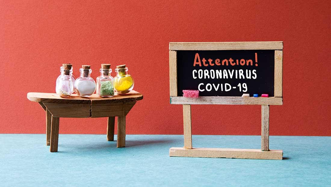 Corona-virus: preteaching