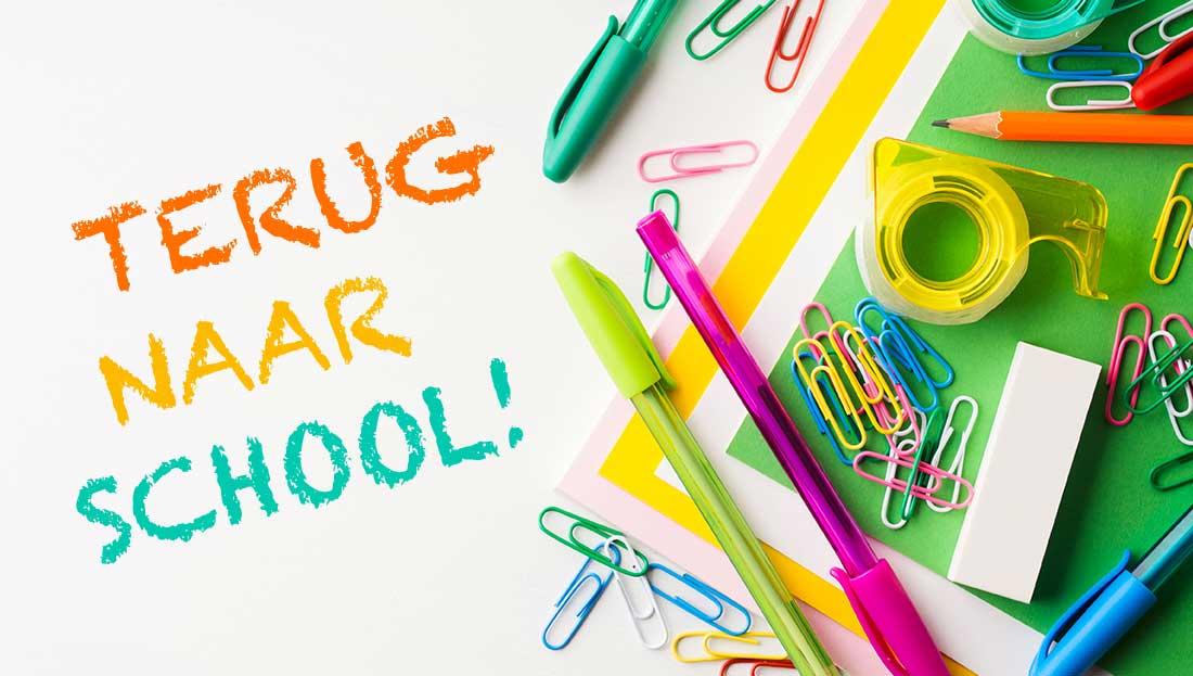 Nieuw schooljaar 2021